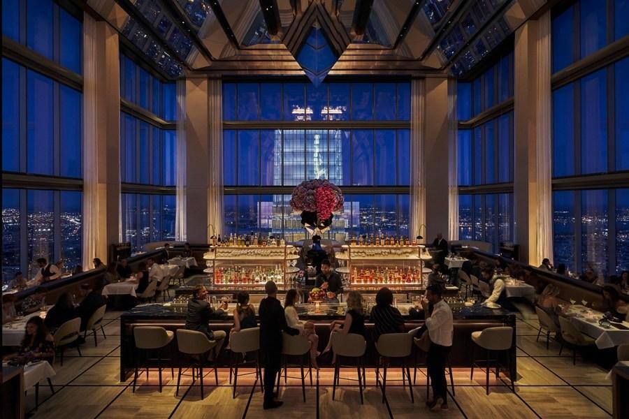 jean-georges philadelphia four seasons hotel restaurant bar