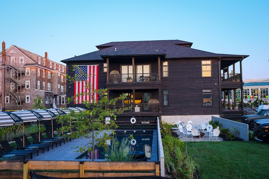 lokal cape may profile hotel and courtyard
