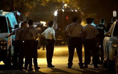 north philly shooting police officers