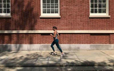 running historical streets