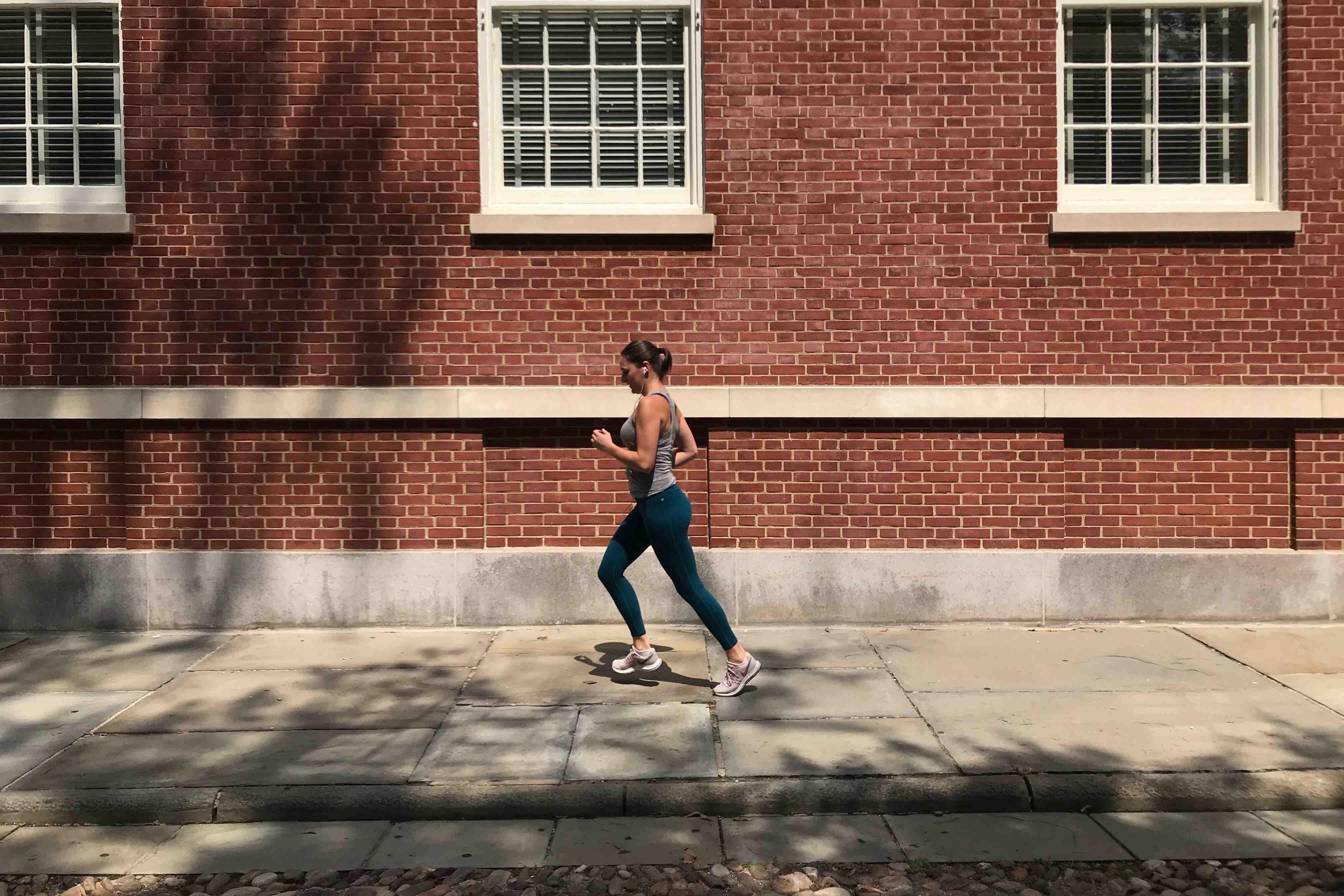 running historical streets