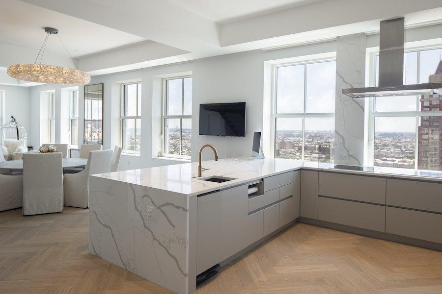 the atlantic penthouse profile kitchen