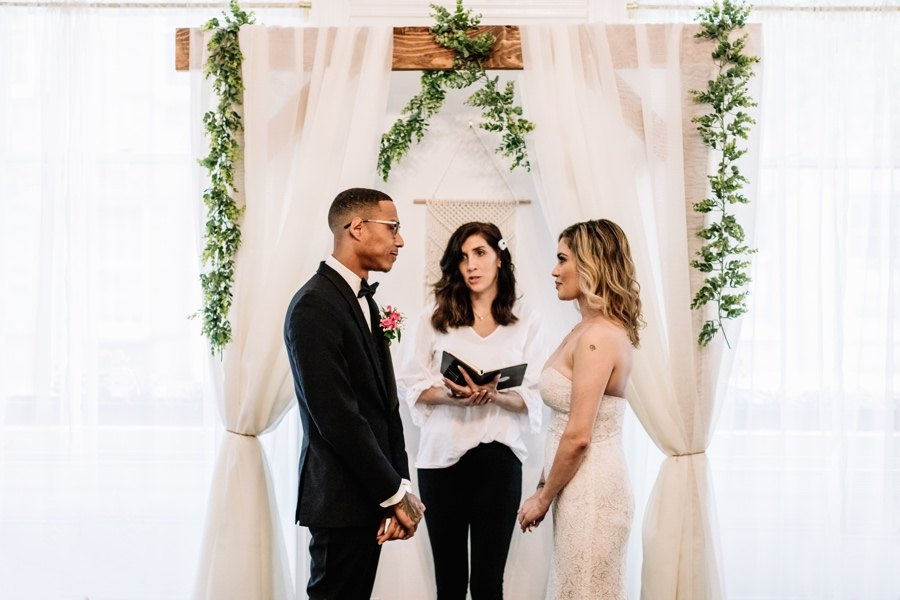 Vaux Studio Wedding Chapel ceremony