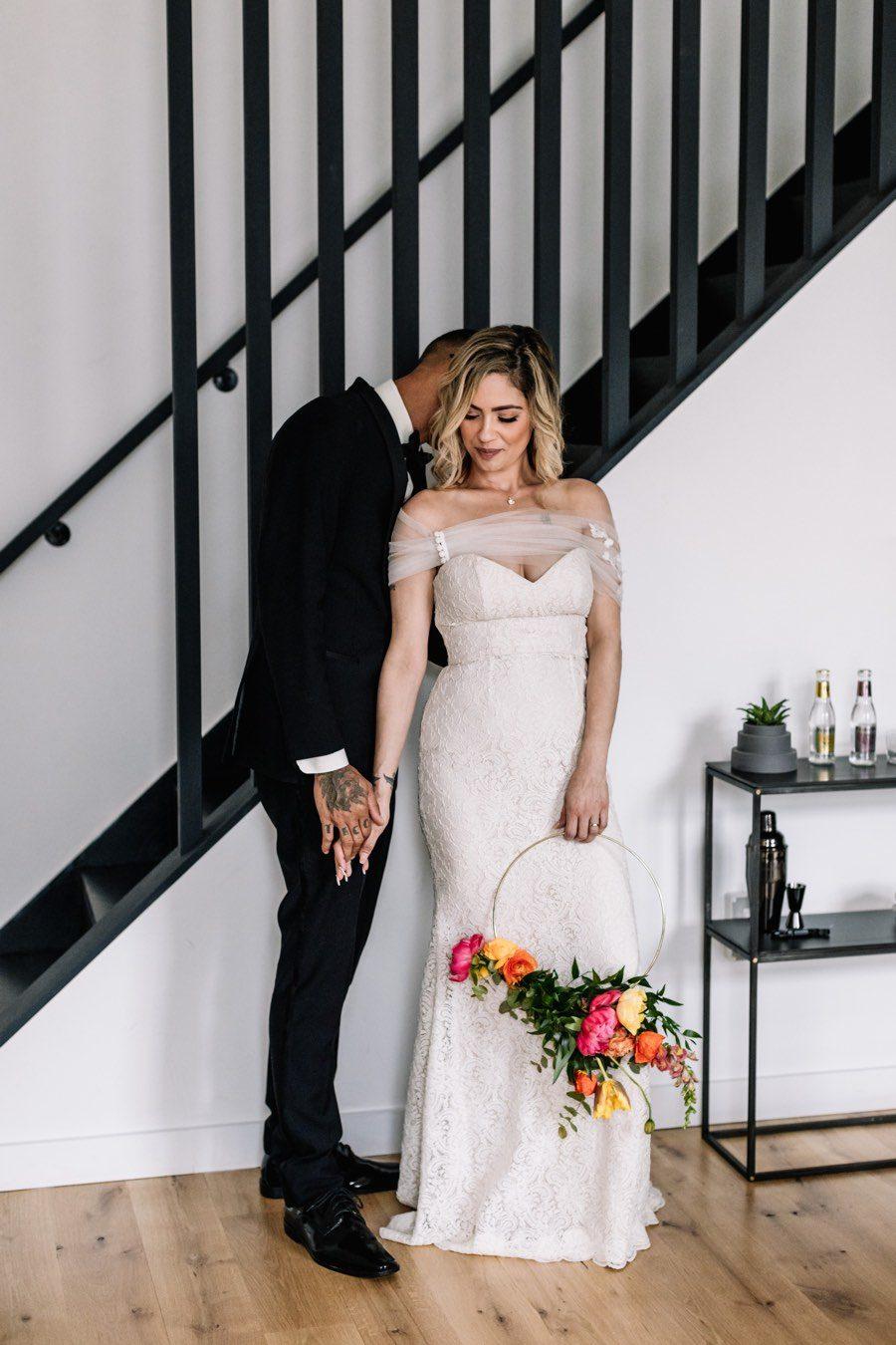 Lokal Fishtown Hotel bride and groom