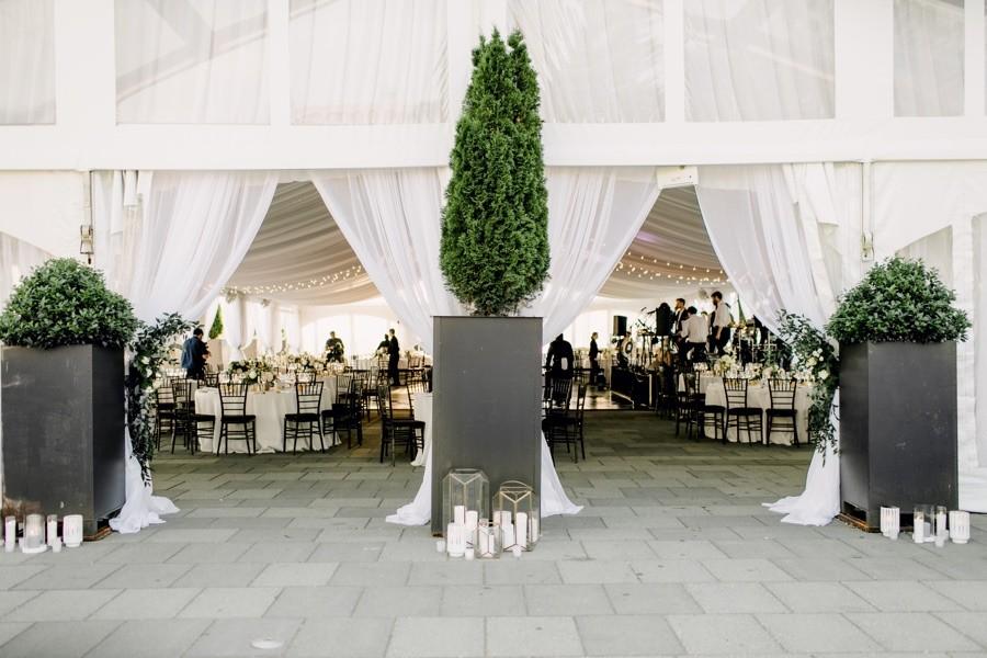 Water Works wedding reception