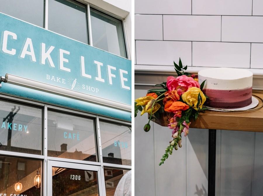 Cake Life Bake Shop wedding cake