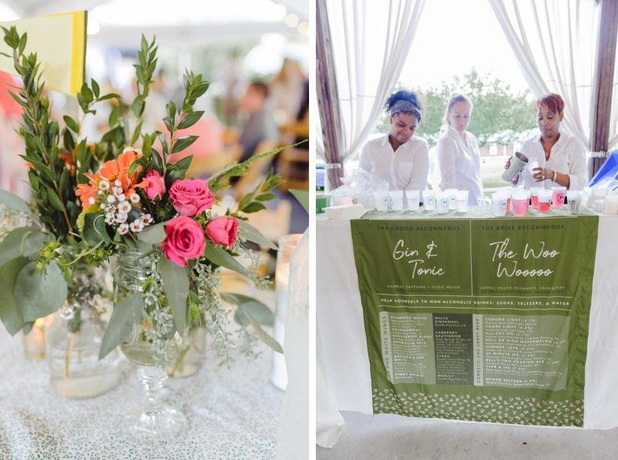 Appel Farm Arts & Music Camp wedding reception