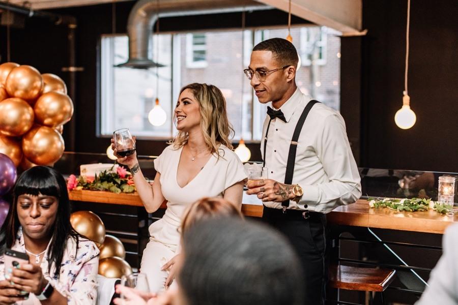Kensington Quarters wedding reception