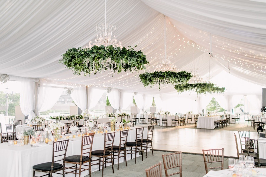 classic water works wedding