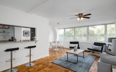condo for sale rittenhouse square double unit main living area