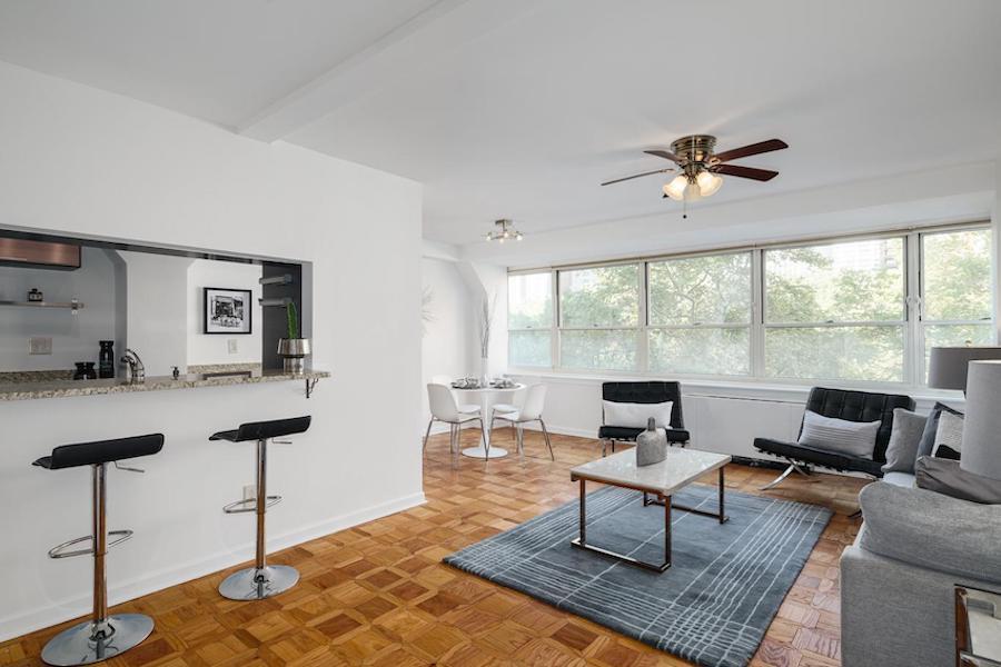 condo for sale rittenhouse square double unit main living area