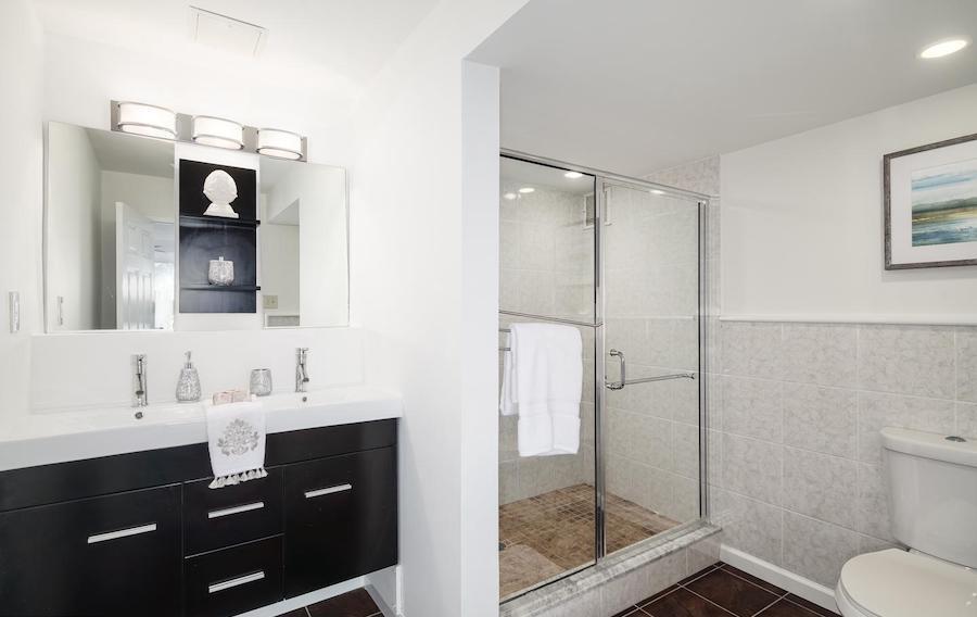 condo for sale rittenhouse square double unit master bathroom