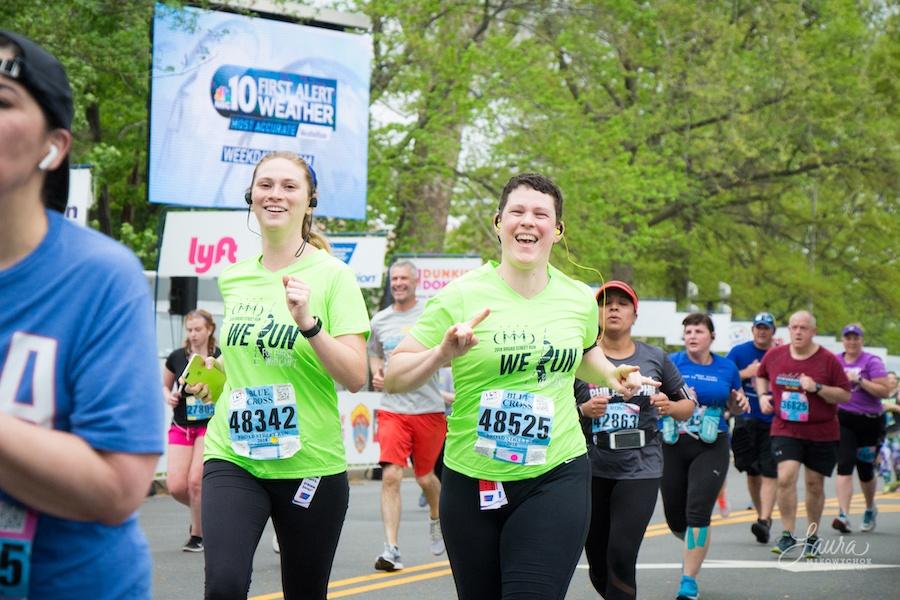 Emily Griffiths Broad Street Run