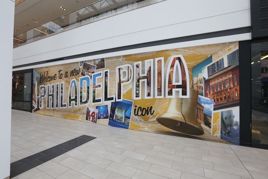 fashion district philadelphia review philadelphia icon mural