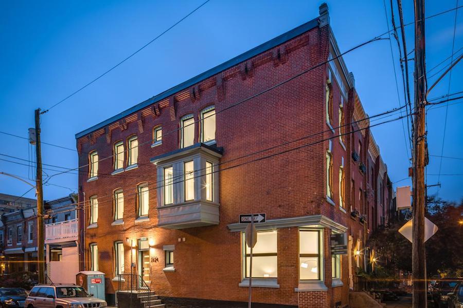 house for sale fairmount rehab exterior corner