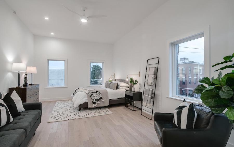 house for sale fairmount rehab master bedroom