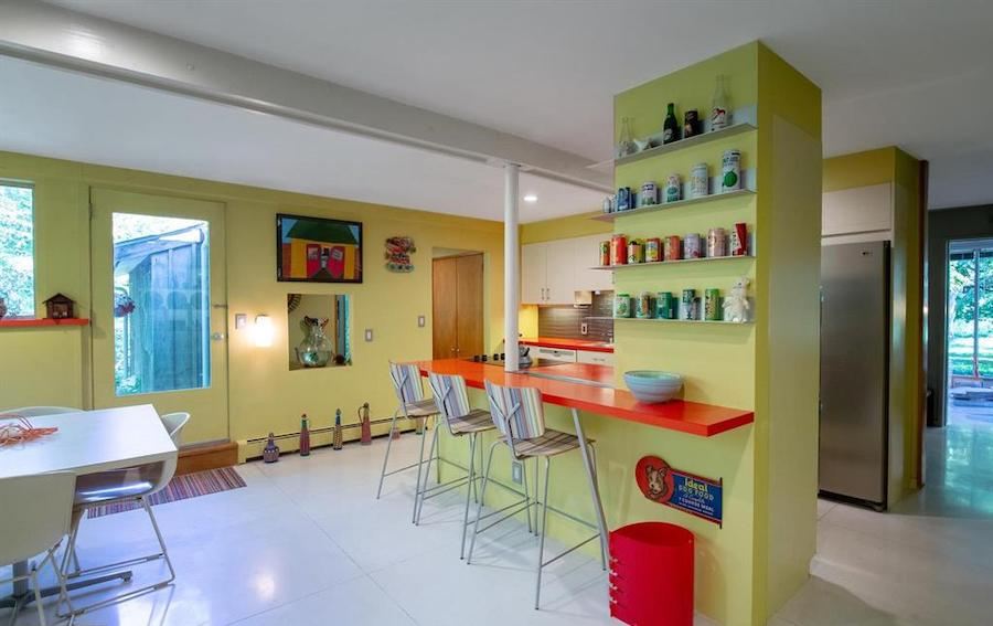 house for sale barren hill midcentury modern kitchen