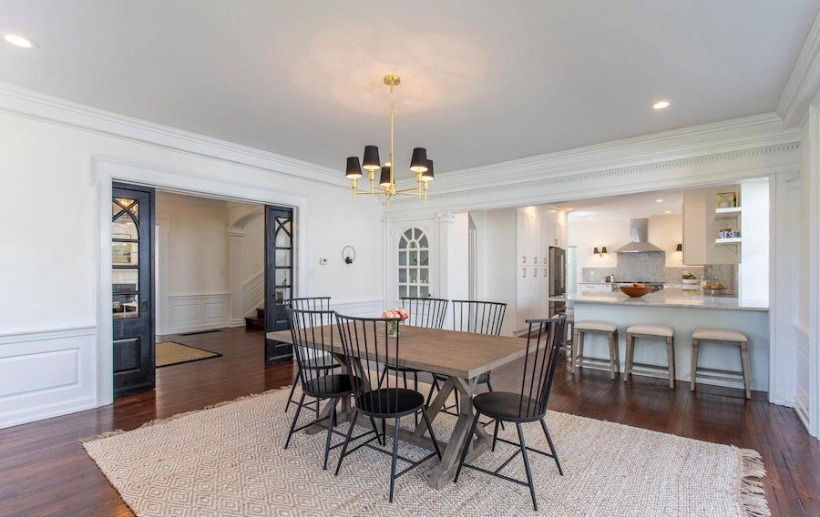 house for sale mt airy restored colonial dining room
