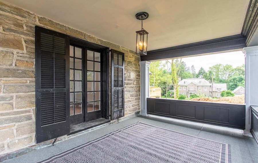 house for sale mt airy restored colonial family room porch