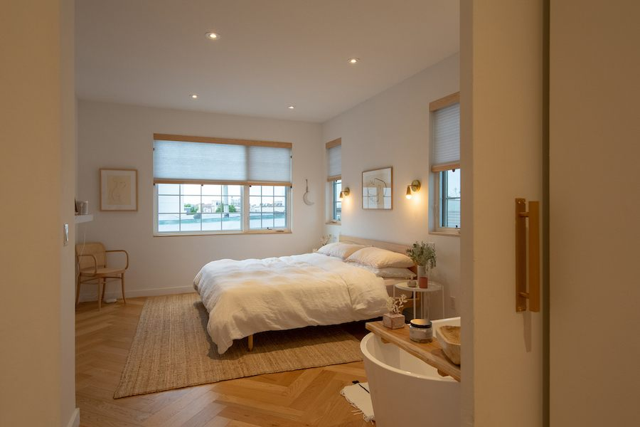 house for sale fishtown bauhaus master bedroom