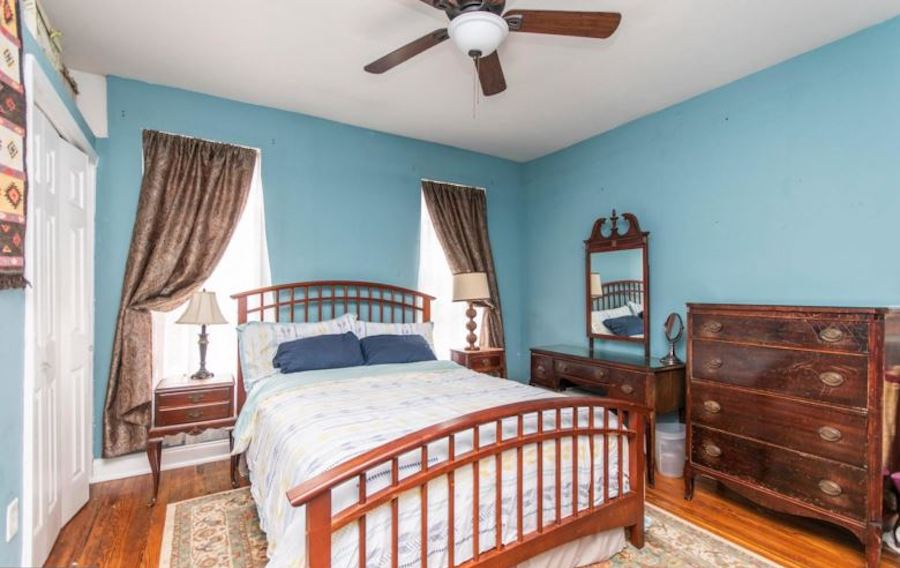 house for sale fishtown renovated rowhouse bedroom