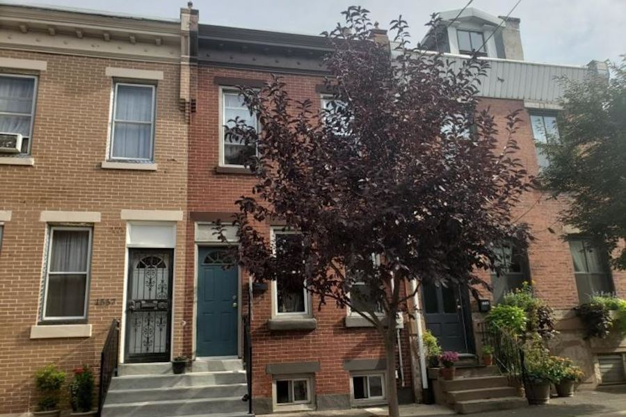 house for sale fishtown renovated rowhouse exterior front