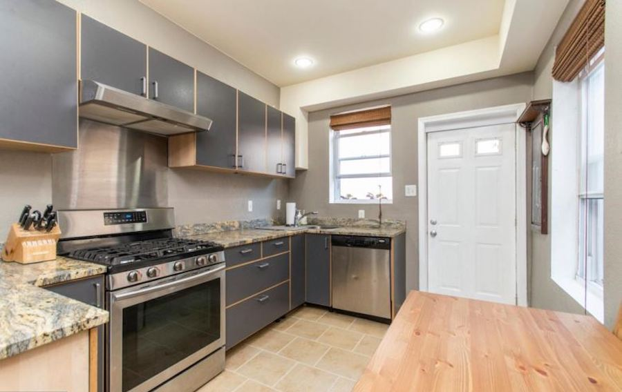 house for sale fishtown renovated rowhouse kitchen