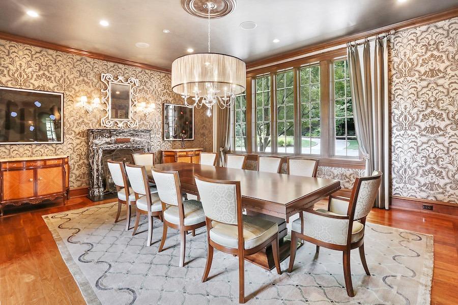 house for sale gladwyne barroway estate dining room