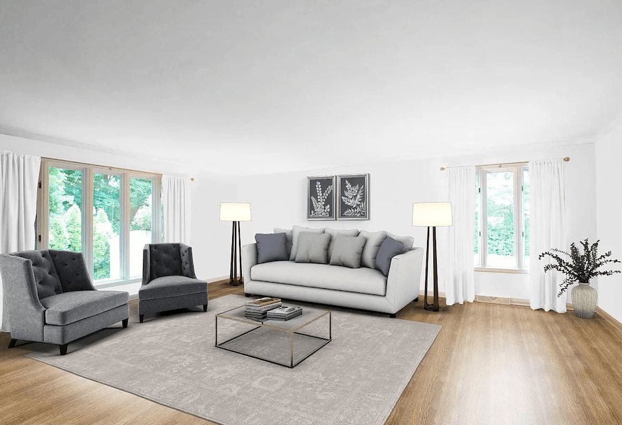 house for sale haverford contemporary living room