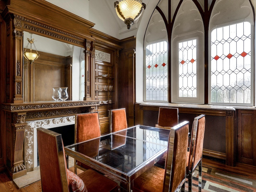 house for sale narberth converted church dining room