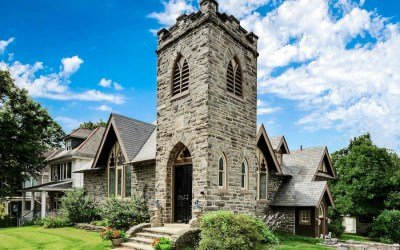 house for sale narberth converted church exterior front