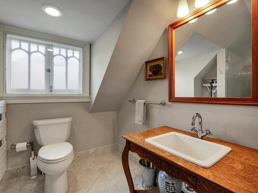 house for sale narberth converted church master bathroom