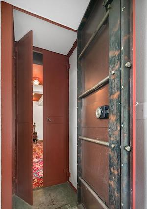 house for sale pine hill capone house vault door
