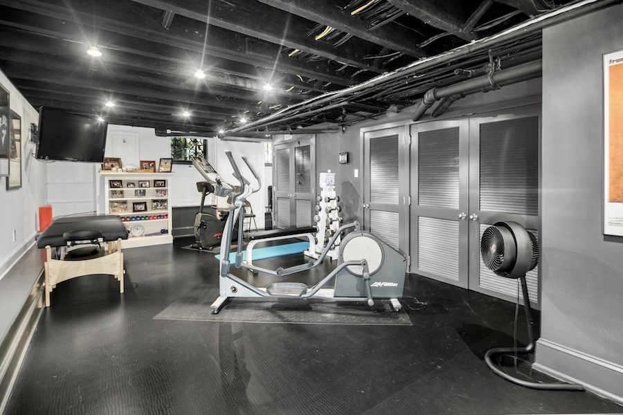 house for sale rittenhouse delancey mansion gym
