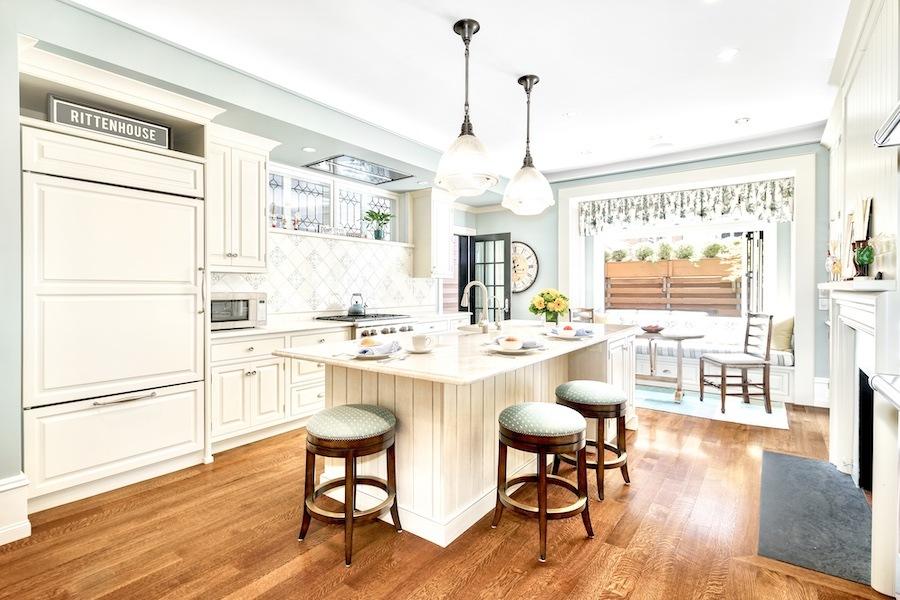 house for sale rittenhouse delancey mansion kitchen