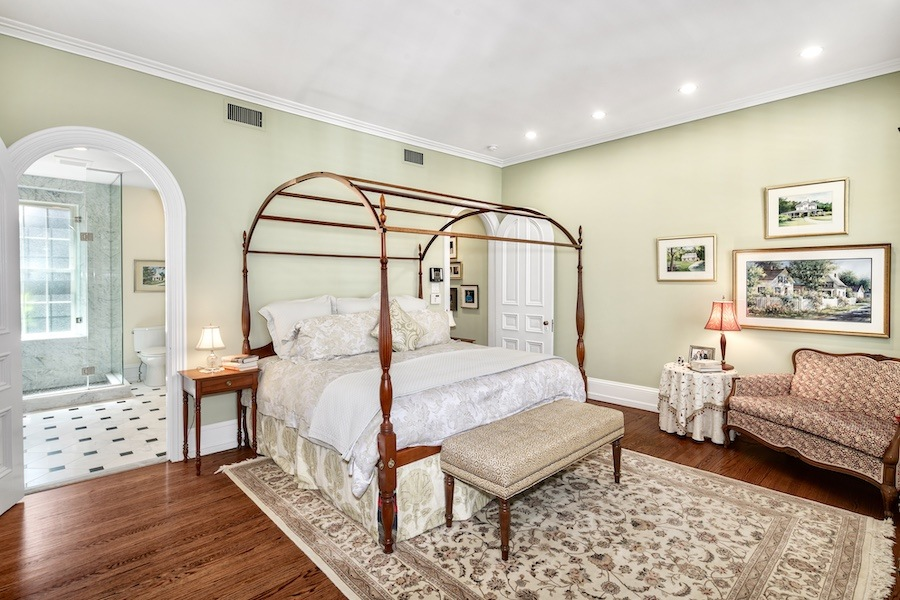 house for sale rittenhouse delancey mansion master bedroom