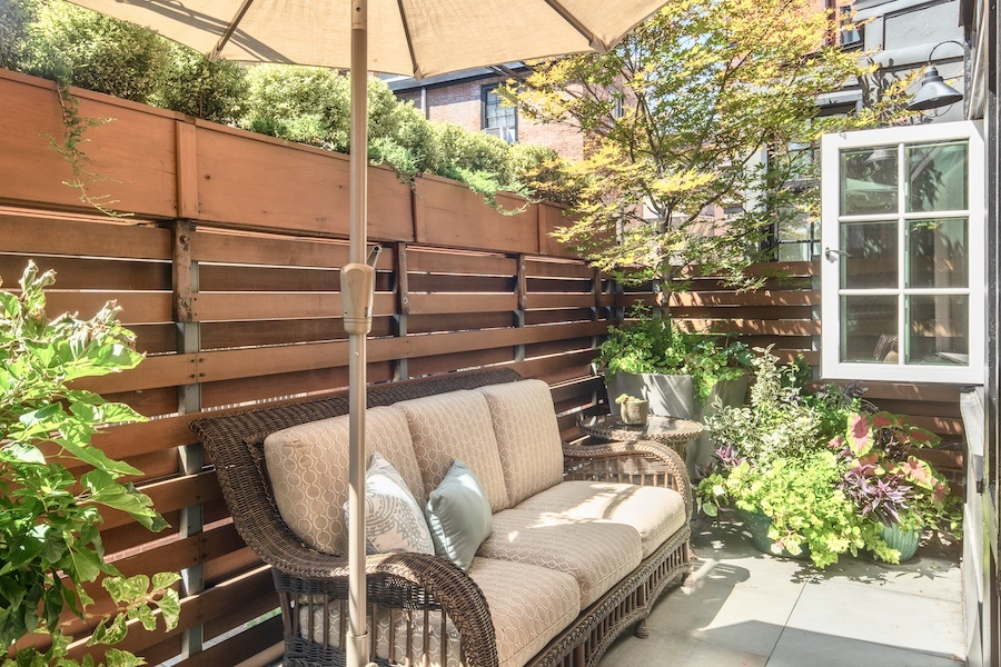house for sale rittenhouse delancey mansion main-floor rear patio