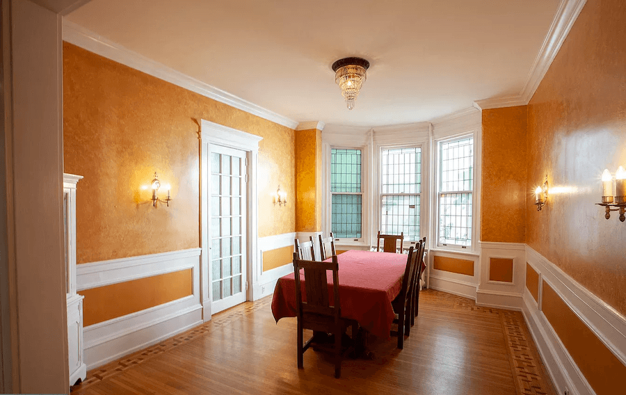 house for sale squirrel hill victorian dining room