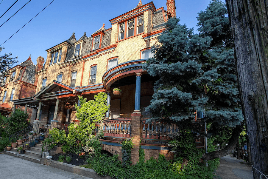 house for sale squirrel hill victorian exterior front