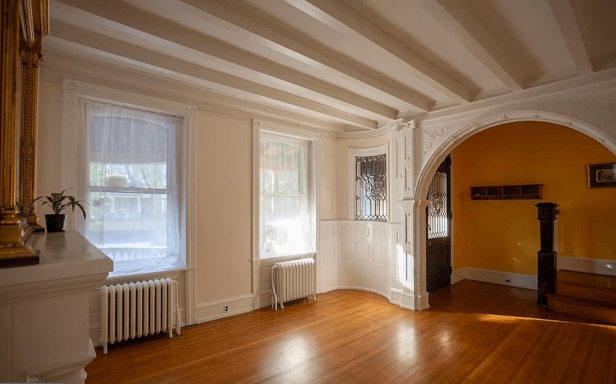 house for sale squirrel hill victorian living room