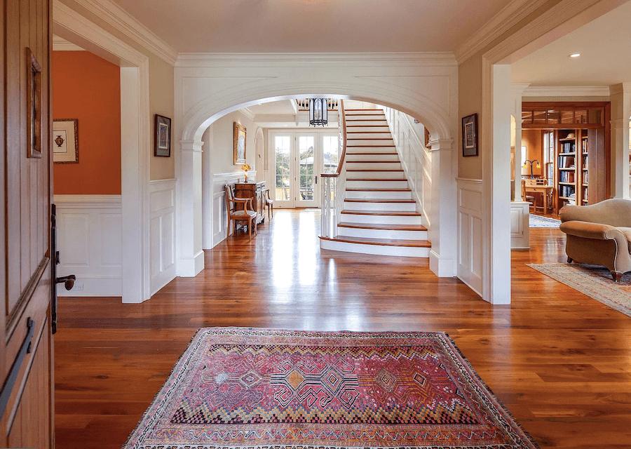 house for sale villanova custom tudor foyer