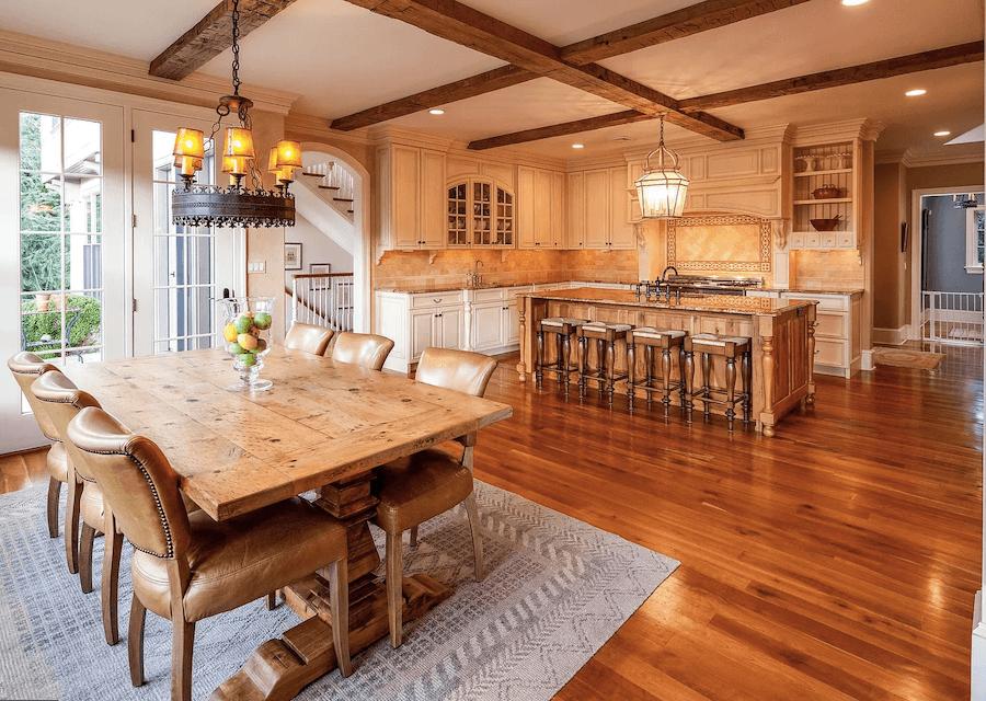 house for sale villanova custom tudor kitchen