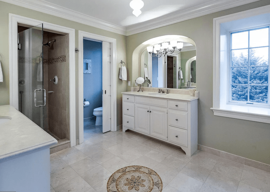 house for sale villanova custom tudor master bathroom