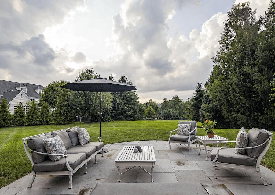 house for sale villanova custom tudor patio
