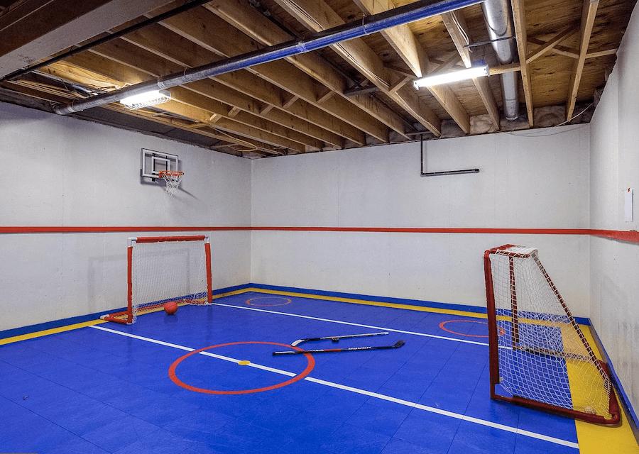 house for sale villanova custom tudor hockey rink