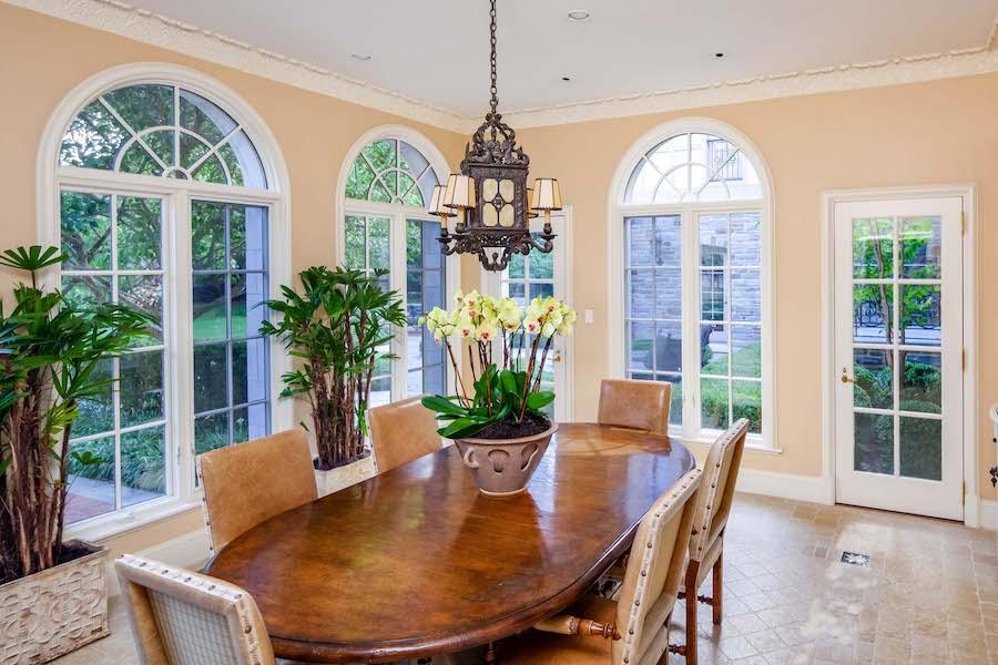 house for sale villanova norman mansion breakfast room