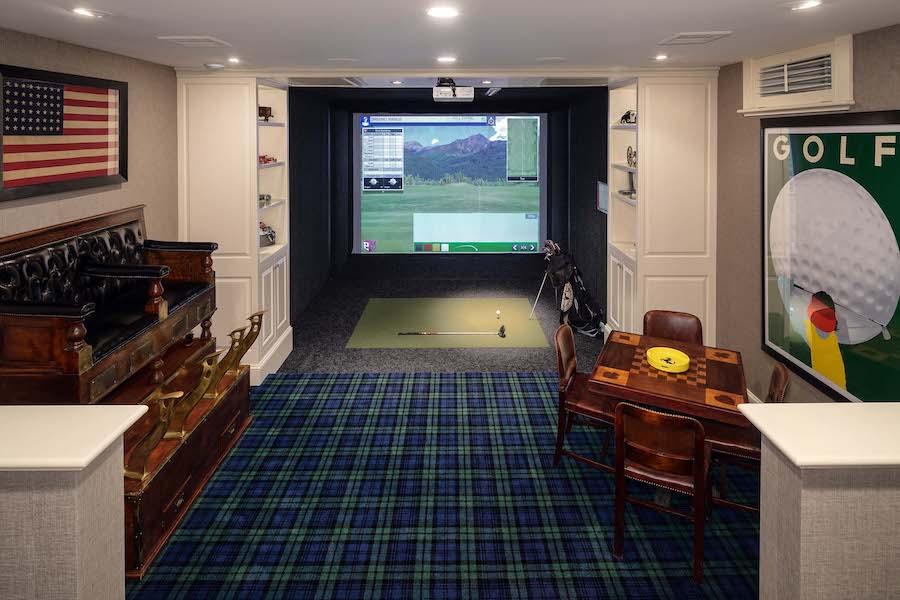 house for sale villanova norman mansion golf simulator