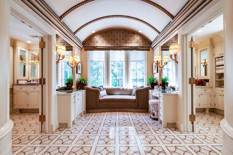 house for sale villanova norman mansion master bathroom