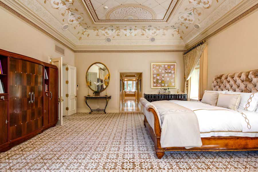 house for sale villanova norman mansion master bedroom