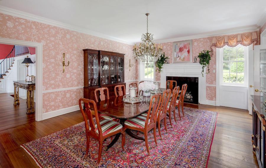 house for sale villanova greystone estate dining room